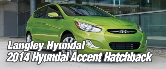 Red 2014 Hyundai Accent Hatchback
