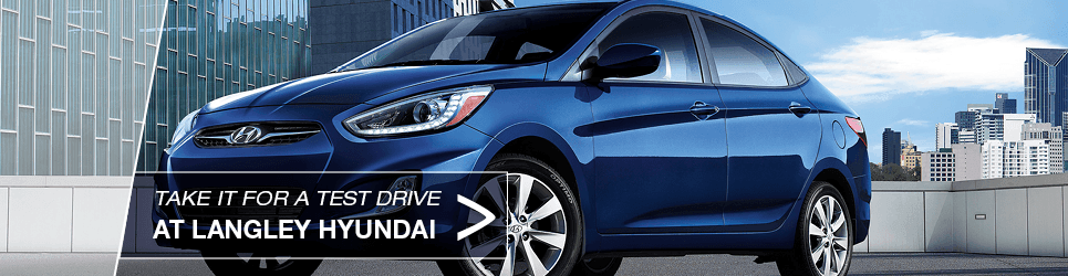 2014 Blue Hyundai Accent for sale in Vancouver, BC