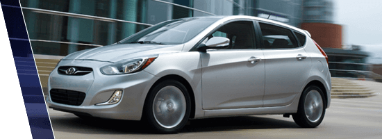 2014 Silver Hyundai Accent in Vancouver