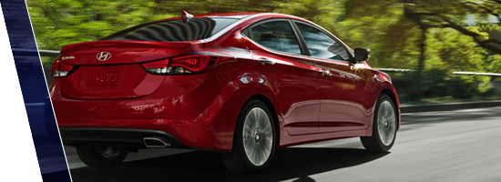 Red 2015 Hyundai Elantra Limited Langley BC