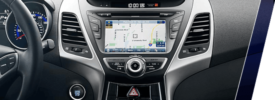 2014 Hyundai Elantra Coupe Dashboard