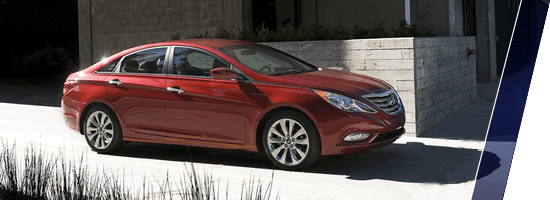 Red Used Hyundai Sonata