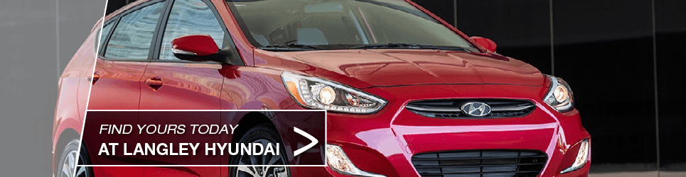 Red 2015 Hyundai Accent in Surrey, BC