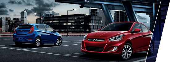 Blue 2015 Hyundai Accent in Surrey, BC