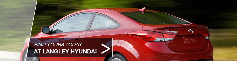 Used Red Hyundai Elantra Coupe